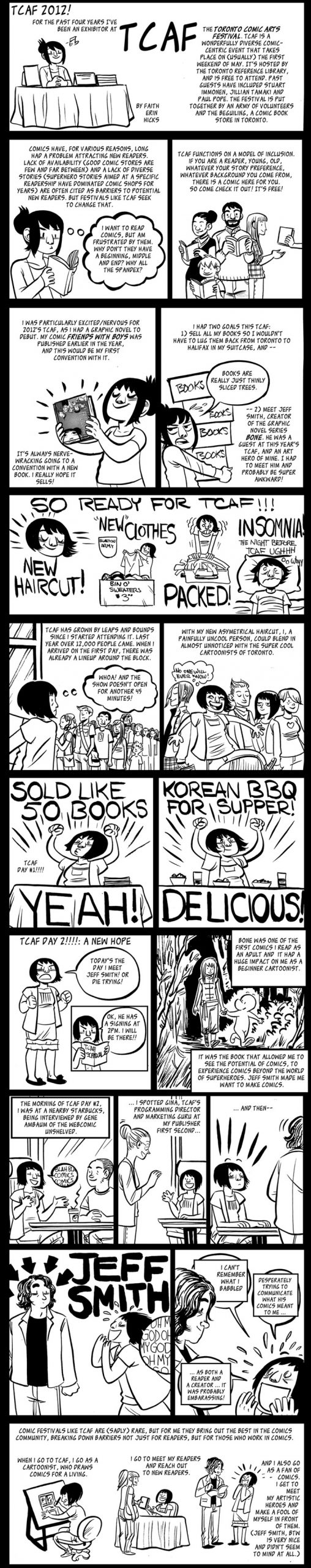 Adventures at TCAF 2012