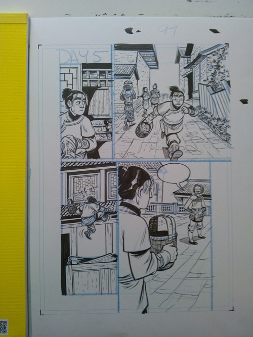 Faith Erin Hicks, making comics